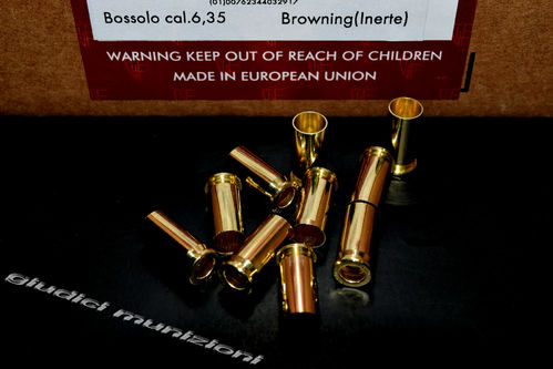 Bossoli FIOCCHI Cal 6,35 Browning