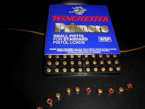 Inneschi Winchester Small Pistol Primers