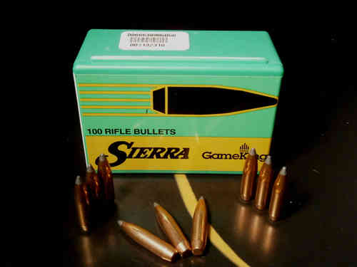 SIERRA GameKing 6,5 mm Cal .264 140 grani