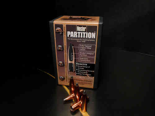 "NOSLER Partition 7mm Cal .284"" 140gr."