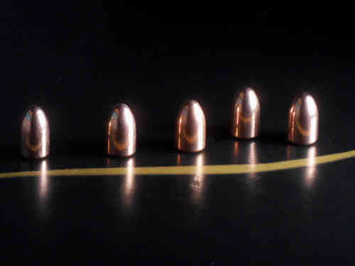 NORTHWEST Palla Cal. 9mm RNBB 124gr