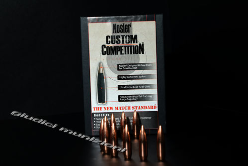 NOSLER Custom Competition 30 Cal .308""
