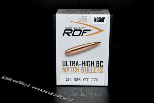 NOSLER RDF MATCH BULLETS