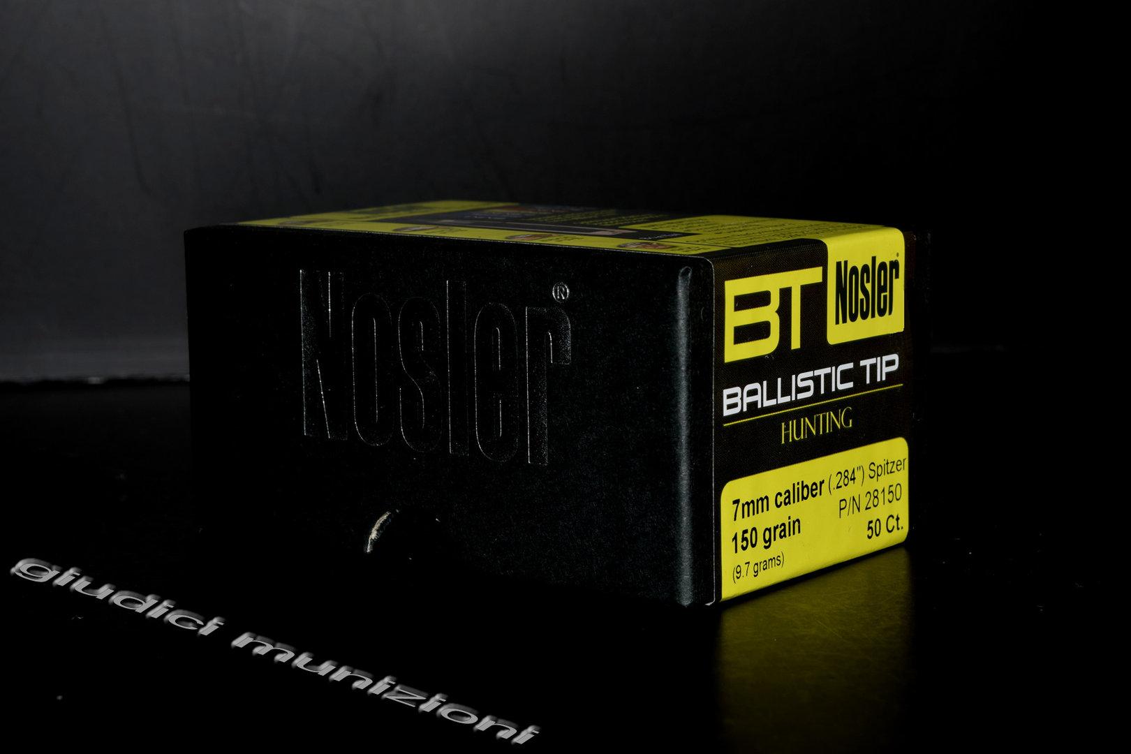 NOSLER Ballistic Tip Hunting 7mm cal  284