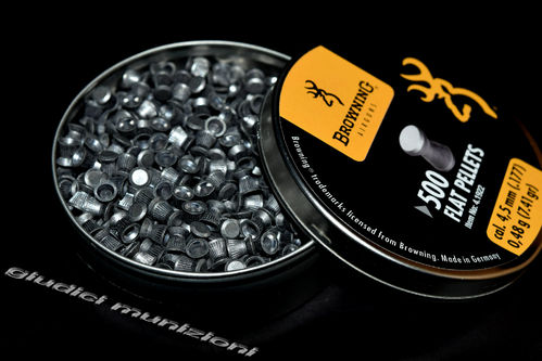 Piombini Browning Cal 4,5mm Flat Pellets