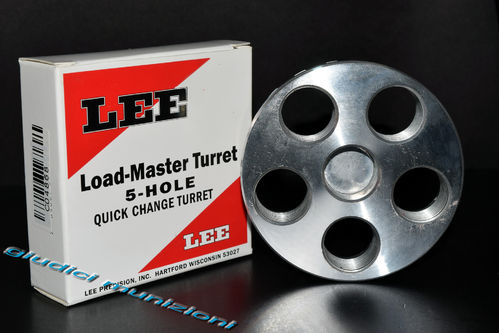 LEE 5-HOLE TURRET | Quick Change Turret